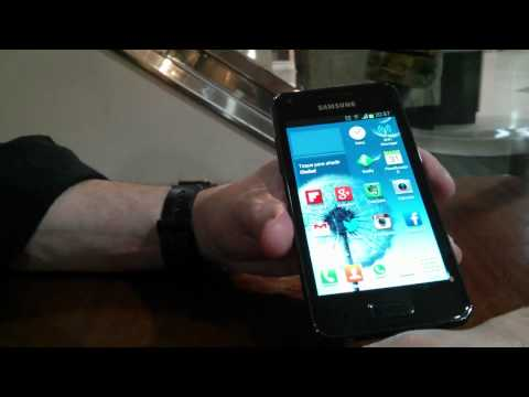 Samsung Galaxy S Advance - Actualizado a Jelly Bean