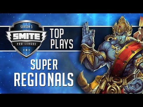 SMITE Pro League 2016 - Super Regionals Top Plays