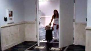 Llegada de mi madre al aeropuerto de Fort Lauderdale.