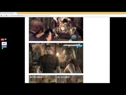 Descargar Resident Evil 4 HD Ultimate Edition PC Game Español