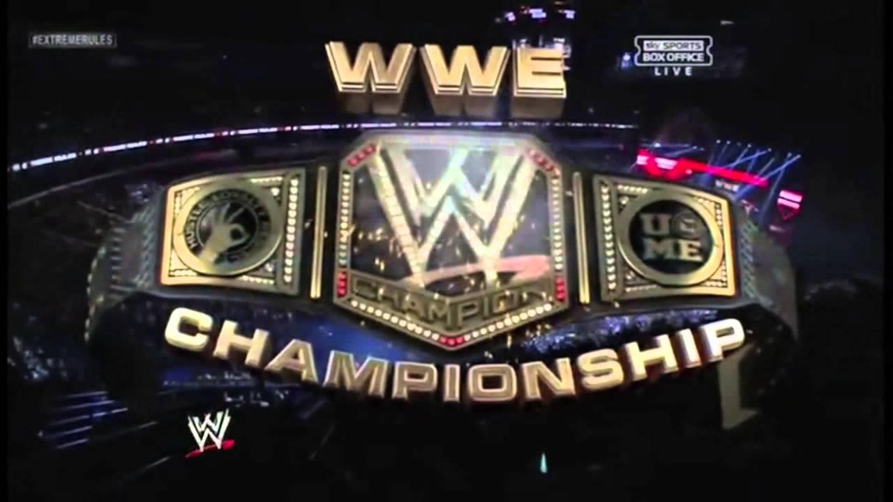 Championship Sides 2013 New Wwe Championship 2013