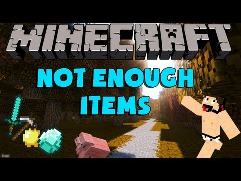 Minecraft Mods: Como Instalar y Descargar Not Enough Items (NEI) Para minecraft 1.6.4