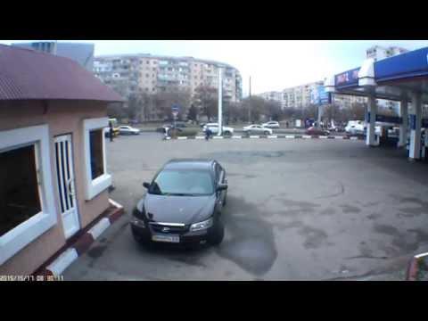 Одесса ДТП на  АЗС Алькор-Ойл