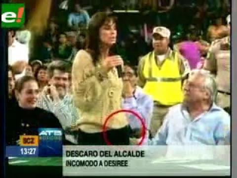 Alcalde Percy Fernandez nalguea a Presidenta Concejo www.revistalamalapalabra.blogspot.com
