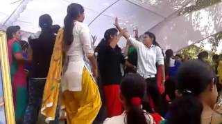 A Collage girl dance in Haryanavi song
