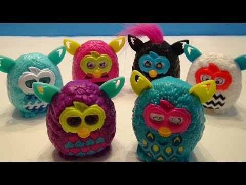 1998 Furby McDonald's Happy Meal Toy - Purple With Green ...