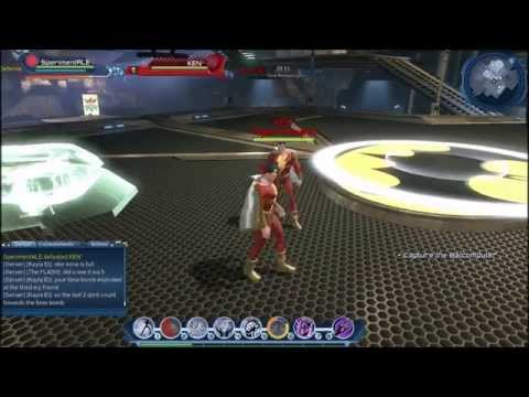 Shazam(Captain Marvel) new legend character preview GU46 DCUO