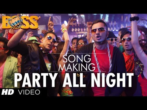 Party All Night Ft. Honey Singh Boss Song Making | Akshay Kumar, Sonakshi Sinha video