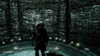 Skyrim (PC) - How to unlock the DovahCore Helmet with the Portal 2 Mod