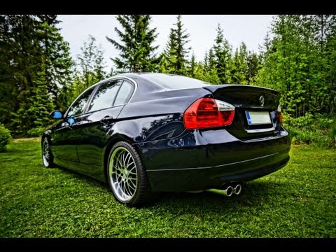My BMW 330i E90 on track