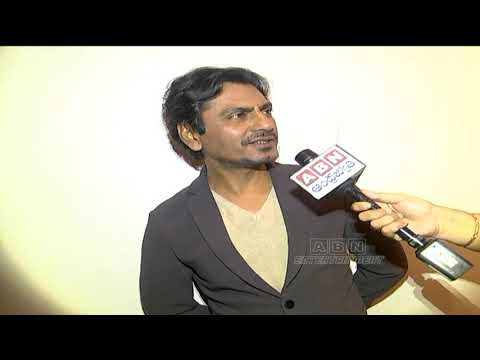 Nawazuddin Siddiqui responds on CM KCR's Biopic| ABN Entertainment