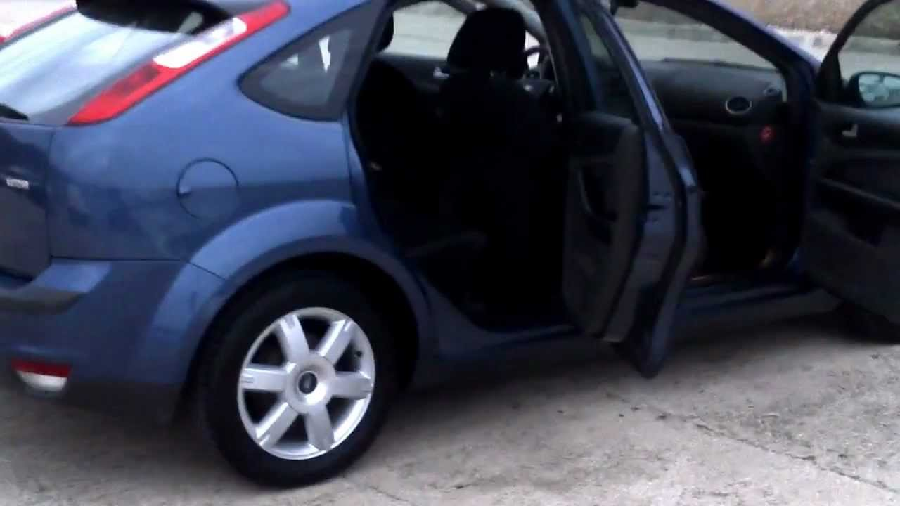 2005 ford focus 1 6tdci ghia 5dr lhd for sale in spain for Ford focus 2006 interieur