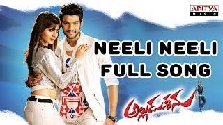 Alludu Seenu Movie    Neeli Neeli Full Song    Sai Srinivas,Samantha