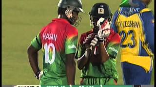 Nasir Hossain's 73* vs Sri Lanka from 1st ODI