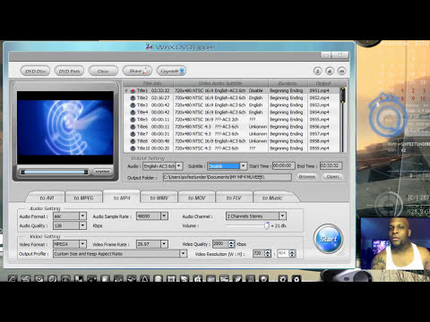 HOW TO RIP DVDS ON YOUR PC FREE!