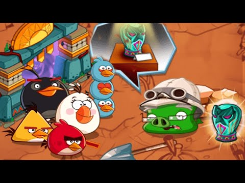 Angry Birds Epic - Return To The Jungle - Elite Stone Guard