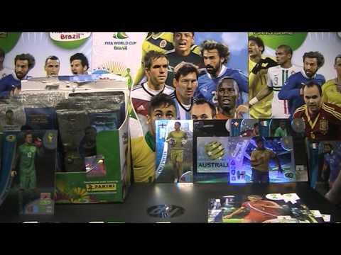FIFA WORLD CUP BRAZIL 2014 - OTWIERAMY BOXA - część 1