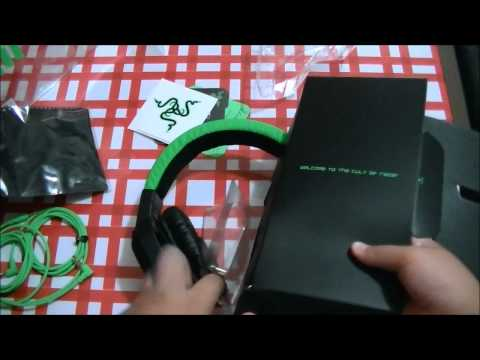Razer Electra Gaming Headset/Headphones - Unboxing