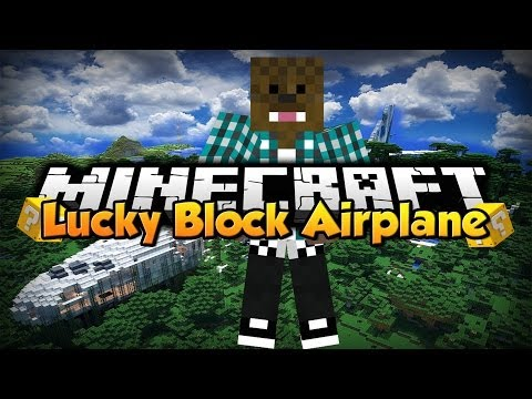 Minecraft: Lucky Block Airplane w/ xSlayder
