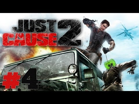 Let's Play Just Cause 2 #04 [Deutsch/Full-HD] - Ersma fliegen