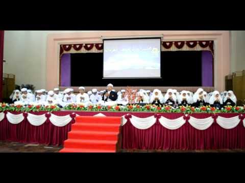 Doa Khatam Al-Quran dipimpin oleh ustaz Pakhruddin