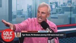 A Tiger Woods-Phil Mickelson $10M showdown has Trey Wingo jacked up | Golic & Wingo | ESPN