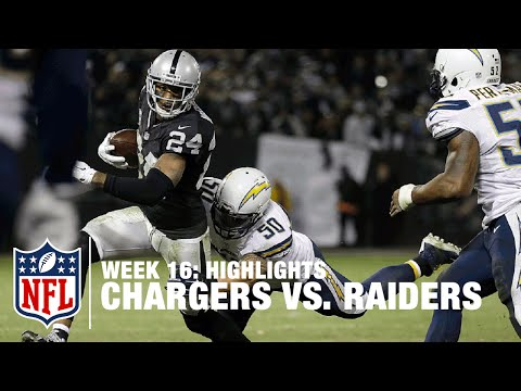 Chargers Vs Raiders Week 16 Highlights Nfl