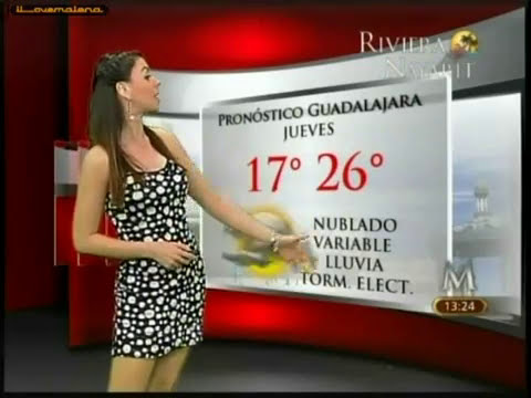 Arlette Fernandez vestido negro/puntos blancos