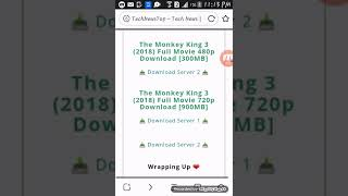 Download monkey king 3 full movie in hindi dubbed with 100%proved
