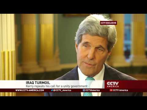 CCTV Exclusive: John Kerry speaks on Iraq, global issues