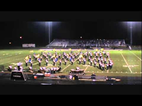 Teays Valley High School Marching Band September 12, 2014