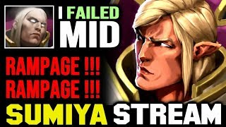 From FAIL to DOUBLE RAMPAGE | Sumiya Invoker Stream Moment #1306