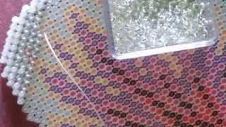 30: Вышивка бисером:  Как я вышиваю. Вышивалка - болталка
