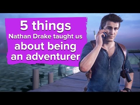 5 things Nathan Drake taught us about being an adventurer - The Eurogamer Show