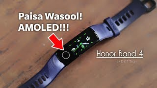 Honor Band 4 Unboxing & Review   Best Smart Band ?   AMOLED Smartband Water Resistant