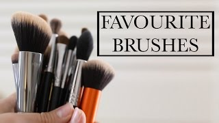 My Everyday & Favourite Makeup Brushes