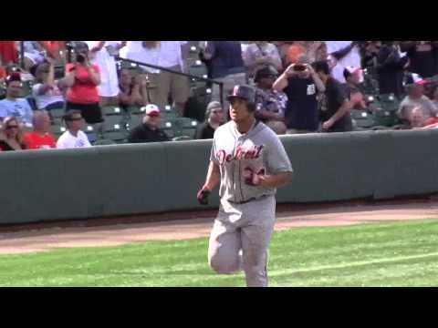 Miguel Cabrera HR Celebration