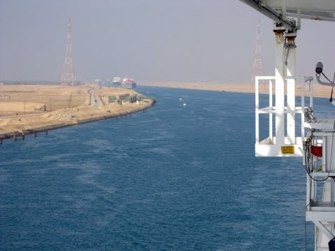 Brilliance of the Seas -  Suez Canal Transit
