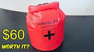 $60 Waterproof Survival Kit  from Walmart