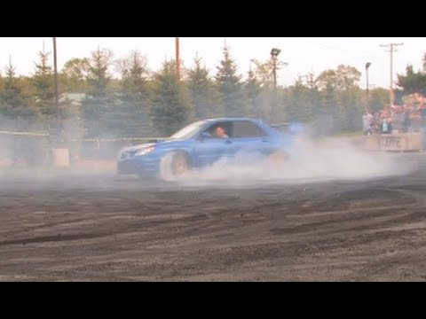 Crazy STI Burnout in HD - Boosted Films