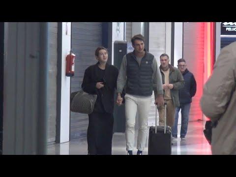 Alba Díaz regresa a Madrid tras pasar unos días con Javier Calle