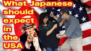 10 Japanese Travel Tips for Visiting America (日英字幕)