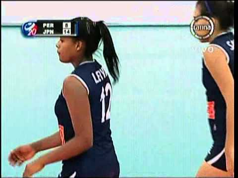 Mundial Juvenil de Voley 2013 - Peru vs Japon (1er. Set)