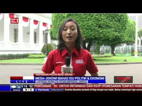 Pertemuan Jokowi-Mega Bahas Politik dan Ekonomi