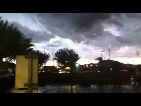 Microburst From Severe Storm (Antelope Valley)