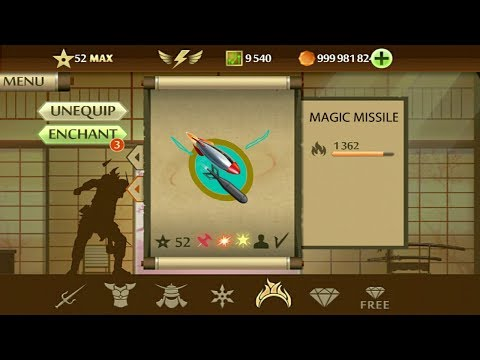 Shadow Fight 2 Magic Missile