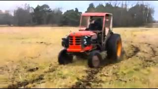 Souped up tractor