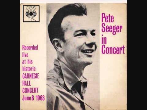 Pete Seeger In Concert EP - Carnegie Hall 1963