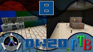 Feed the Beast Direwolf20 - Ep 8 - Throne Room/IC2!