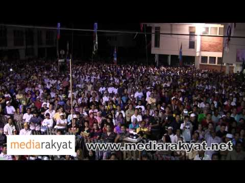 (new) Anwar Ibrahim: Ceramah Perdana Di Tawau, Sabah video
